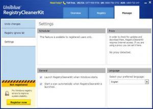 Enlarge RegistryCleanerKit Screenshot