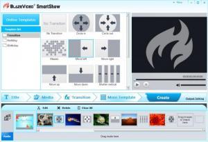 Enlarge BlazeVideo SmartShow Screenshot