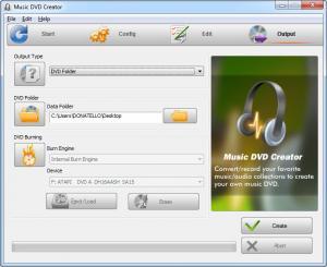 Enlarge Music DVD Creator Screenshot