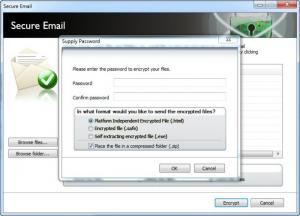 Enlarge Lavasoft Digital Lock Screenshot