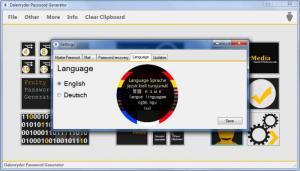 Enlarge Dalenryder Passwort Generator Screenshot