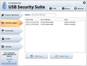 Enlarge USB Security Suite Screenshot
