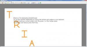 Enlarge SymbolChooser Screenshot