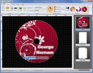 Enlarge Disc Cover Studio Screenshot