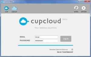 Enlarge Cupcloud Screenshot