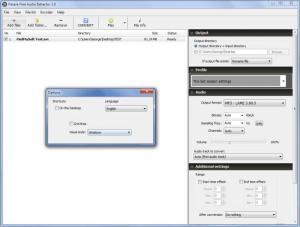 Enlarge Pazera Free Audio Extractor Screenshot