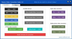 Enlarge Pazera Video Converters Suite Screenshot