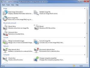 Enlarge Laplink DiskImage Screenshot