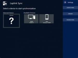 Enlarge Laplink Sync Screenshot