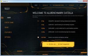 Enlarge AllBenchmark Catzilla Screenshot
