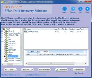 Enlarge Bplan Data Recovery Screenshot