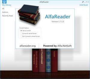 Enlarge AlfaReader Screenshot