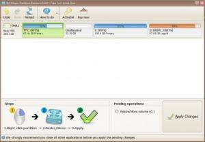 Enlarge IM-Magic Partition Resizer Screenshot