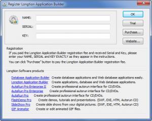 Enlarge Longtion Application Builder Screenshot