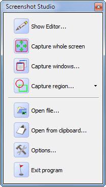 Enlarge Screenshot Studio Screenshot
