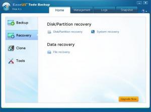 Enlarge EaseUS Todo Backup Free Screenshot