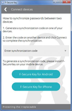 Enlarge F-Secure KEY Screenshot
