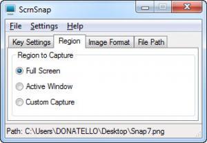 Enlarge ScrnSnap Screenshot