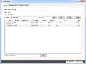 Enlarge Packet Sender Screenshot