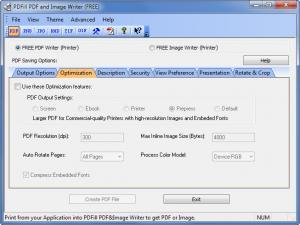 Enlarge PDFill PDF Writer Screenshot