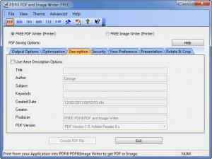 Enlarge PDFill PDF Writer Screenshot