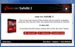 Enlarge East-Tec SafeBit Screenshot