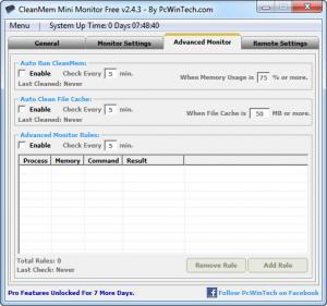 Enlarge CleanMem Screenshot