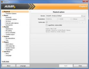 Enlarge AIMP Screenshot