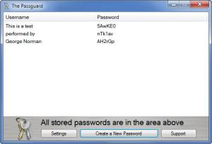 Enlarge The PassGuard Screenshot