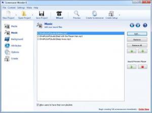 Enlarge Screensaver Wonder Screenshot