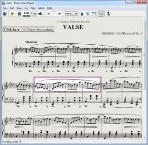 Enlarge Musicnotes Player Screenshot