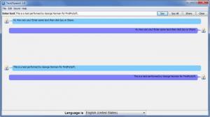 Enlarge Text2Speech Screenshot