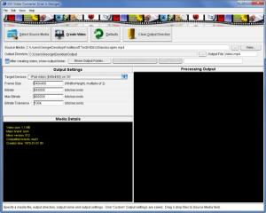 Enlarge iOS Video Converter Screenshot