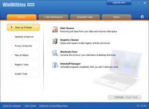 Enlarge WinUtilities Free Screenshot