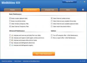 Enlarge WinUtilities Free Screenshot