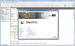 Enlarge MemPro Screenshot