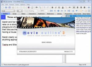Enlarge Movie Outline Screenshot