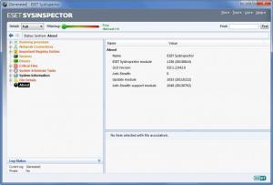 Enlarge ESET SysInspector Screenshot