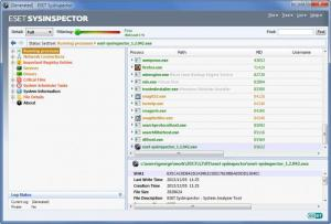 Enlarge ESET SysInspector Screenshot
