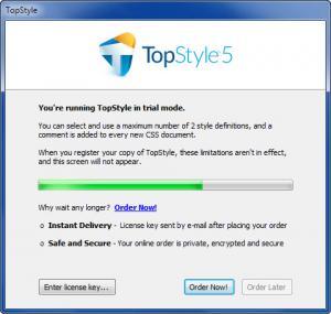 Enlarge TopStyle Screenshot