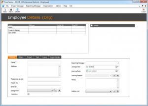 Enlarge TimeTracker Screenshot