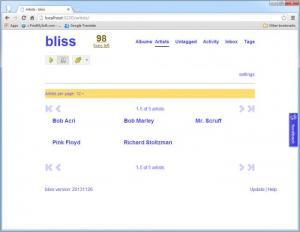 Enlarge bliss Screenshot