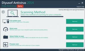 Enlarge Diyusof Antivirus Screenshot