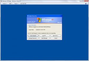Enlarge Windows Virtual PC Screenshot