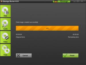 Enlarge IQmango Burner Screenshot