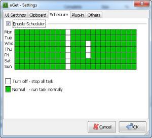 Enlarge uGet Screenshot