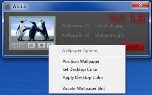 Enlarge Evrnet Wallpaper Switcher Screenshot
