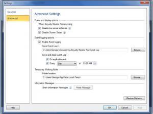 Enlarge Security Monitor Pro Screenshot