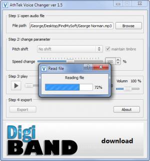 Enlarge Free Voice Changer Screenshot