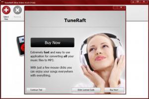 Enlarge TuneRaft Screenshot